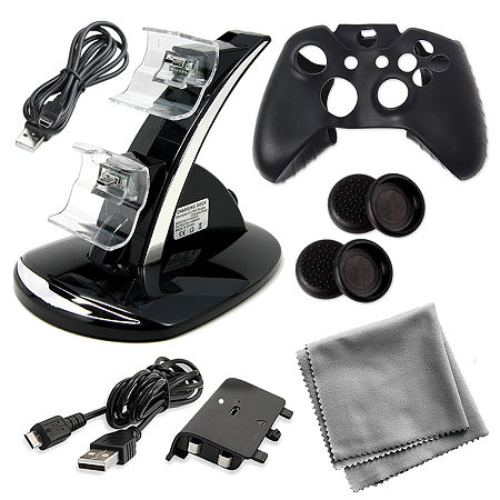 10 in 1 Kit for Xbox One, One Size , Black