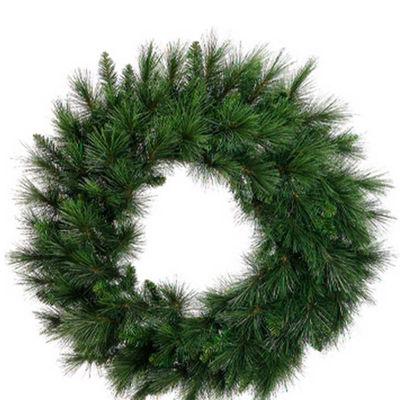 "36"" Long Needle Pine Artificial Christmas Wreath -Unlit"""