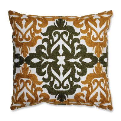 Pillow Perfect Jayne 18X18 Square Throw Pillow