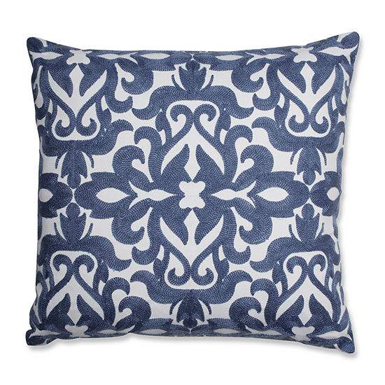 Pillow Perfect Jenny 18X18 Square Throw Pillow