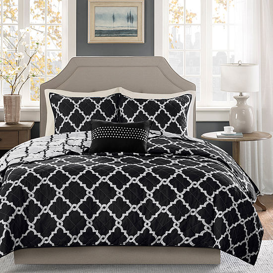 Madison Park Essentials Almaden Reversible 7-pc.  Comforter and Sheet Set