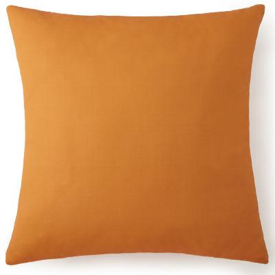 Nautical Board Euro Sham Solid Orange