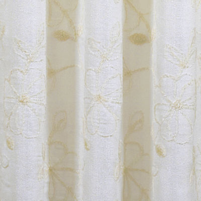Queen Street Aster Grommet-Top Curtain Panel