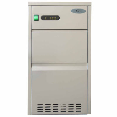 SPT IM-441C: 44 lbs Automatic Stainless Steel Ice Maker