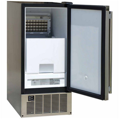 SPT IM-600US: 50LBS Stainless Steel Under-Counter Ice Maker