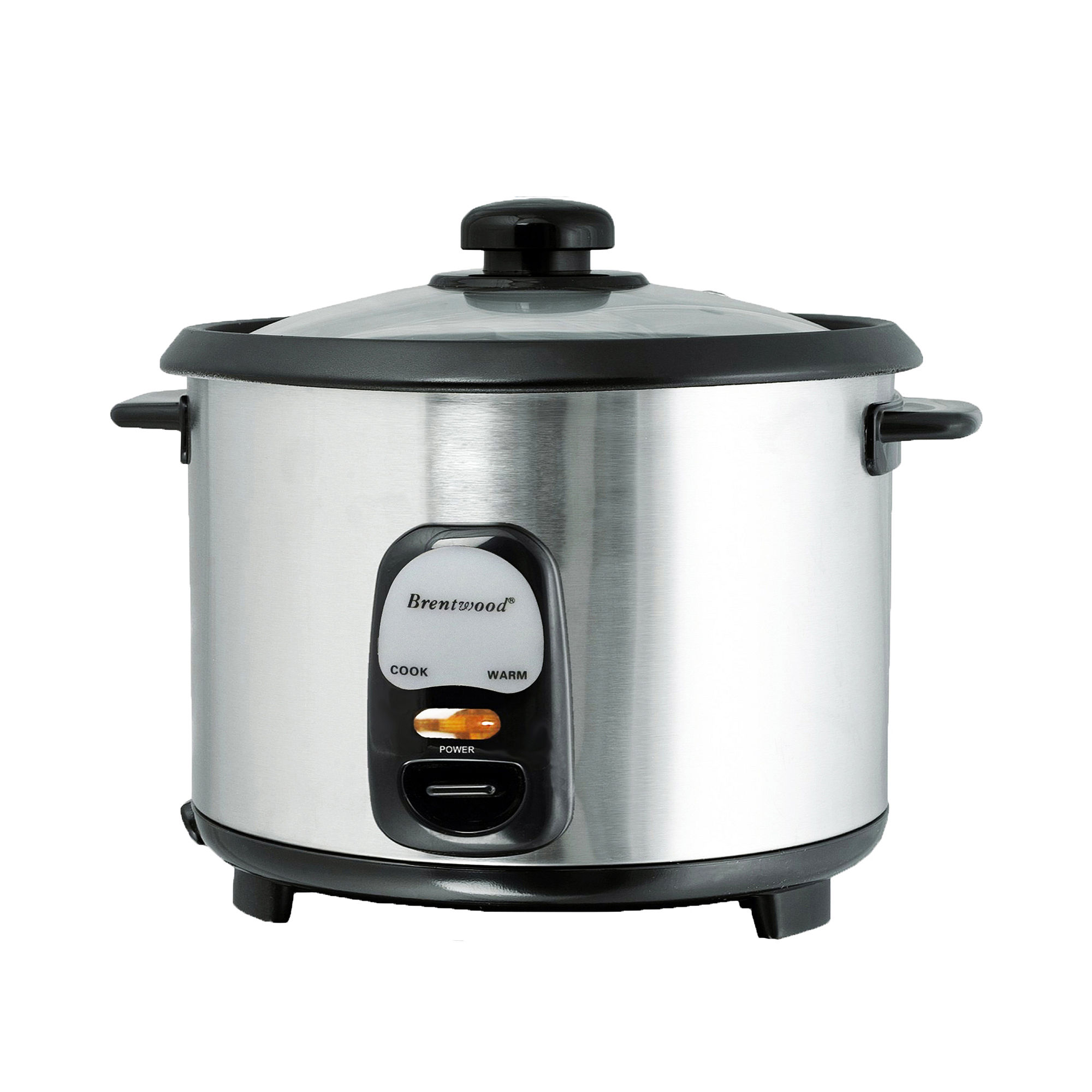 Brentwood 8 Cup Rice Cooker/Non-Stick with Steamer