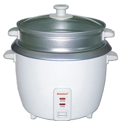 Brentwood 15 Cup Rice Cooker/Non-Stick with Steamer
