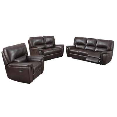 Galaxy Leather Gel Recliner Sofa