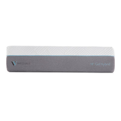 Wellsville 14 Inch Gel Memory Foam and InnerspringPremium Hybrid Mattress