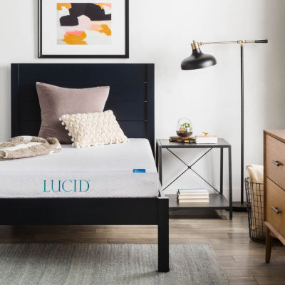Lucid 6 Inch Dual Layer Memory Foam Mattress