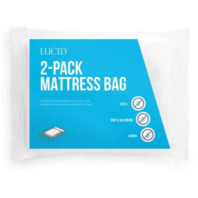 Lucid 2-Pack Mattress Moving and Storage Bag