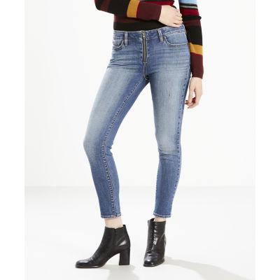 Levi's 711 Zip-Up Skinny Jeans