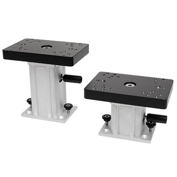 Cannon Downriggers Aluminum Swivel Base Pedestal Mount - 4""