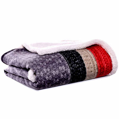 Eddie Bauer Fairisle Steel 50X70 Throw