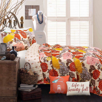 Lush Décor Agnes 5Pc Quilt Set