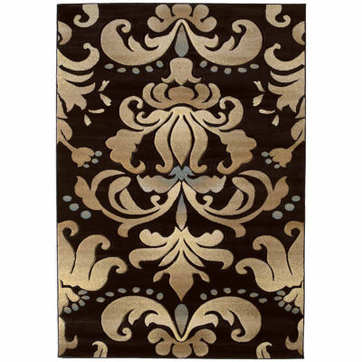 United Weavers Contours Collection Lotus Rectangular Rug