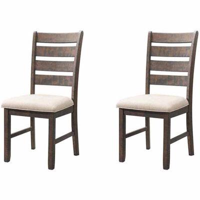 Picket House Furnishings Dex Ladder Back Side Chair Set