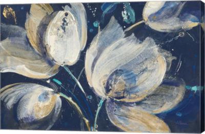Metaverse Art Midnight Garden Canvas Art