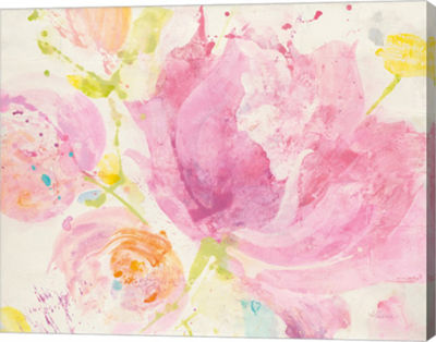 Metaverse Art Spring Abstracts Florals II Canvas Art