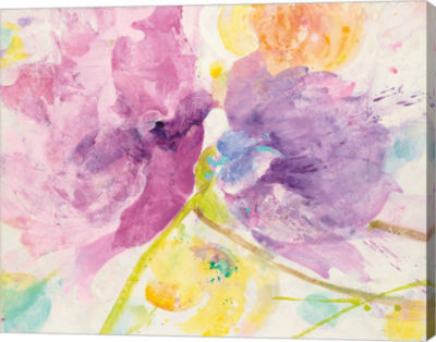 Metaverse Art Spring Abstracts Florals I Canvas Art