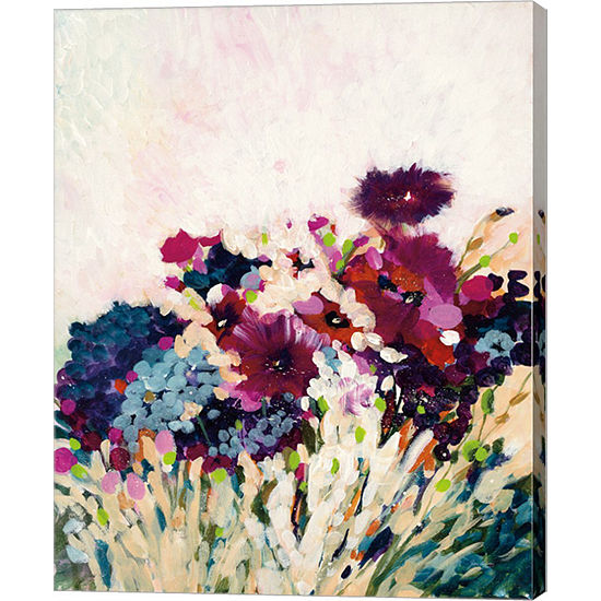 Metaverse Art In Bloom Canvas Art