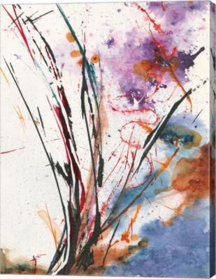 Metaverse Art Floral Explosion IV Canvas Art
