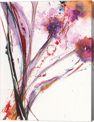 Metaverse Art Floral Explosion III Canvas Art