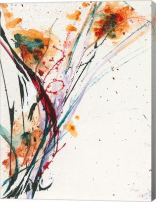 Metaverse Art Floral Explosion II Canvas Art