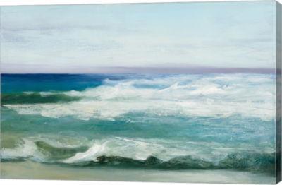 Metaverse Art Azure Ocean Canvas Art