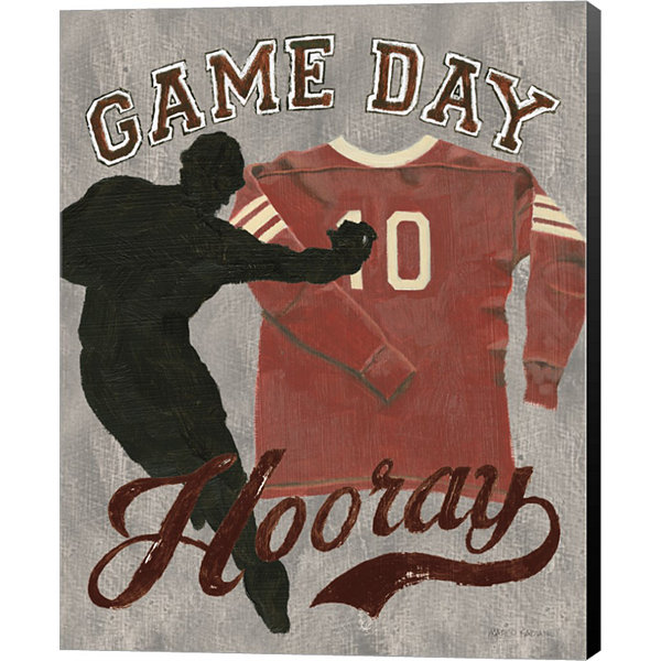 Game Day I Canvas Art