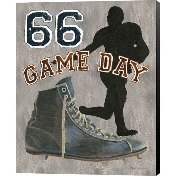 Game Day II Canvas Art