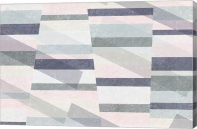 Metaverse Art Pastel Reflections I Canvas Art