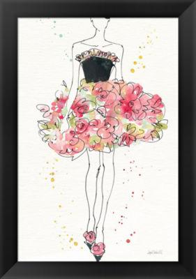 Metaverse Art Floral Fashion II v2 Framed Print