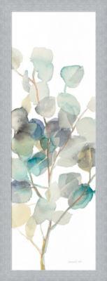 Metaverse Art Eucalyptus III White Crop Framed Print