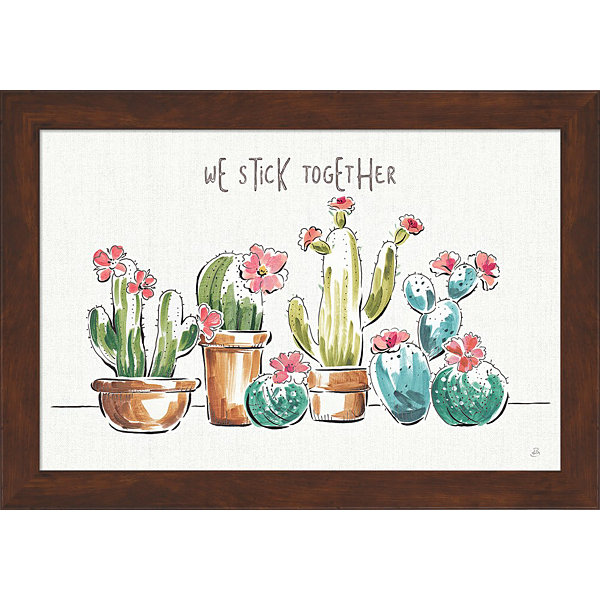 Desert Bloom I Framed Print