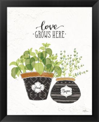 Metaverse Art Fine Herbs V Framed Print
