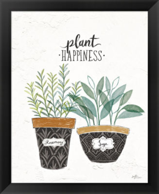 Metaverse Art Fine Herbs IV Framed Print