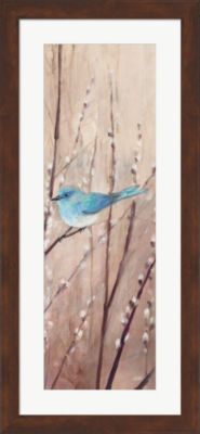 Metaverse Art Pretty Birds Framed Print