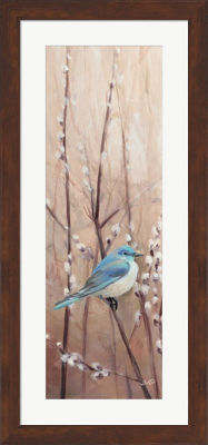 Metaverse Art Pretty Birds II Framed Print