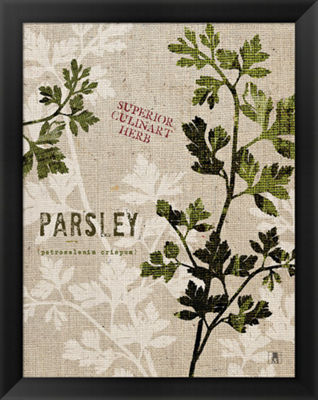 Metaverse Art Organic Parsley No Butterfly FramedPrint