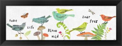 Metaverse Art Wild Wings VIII Framed Print