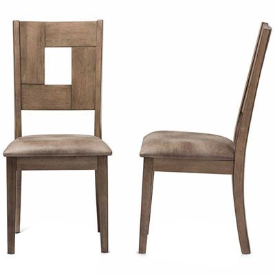 Baxton Studio Gillian 2-pack Side Chair