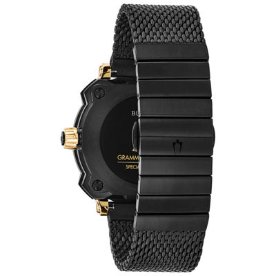 Bulova Mens Black Bracelet Watch-98b303