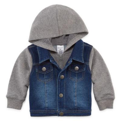 Okie Dokie Denim Jacket-Baby Boy NB-24M
