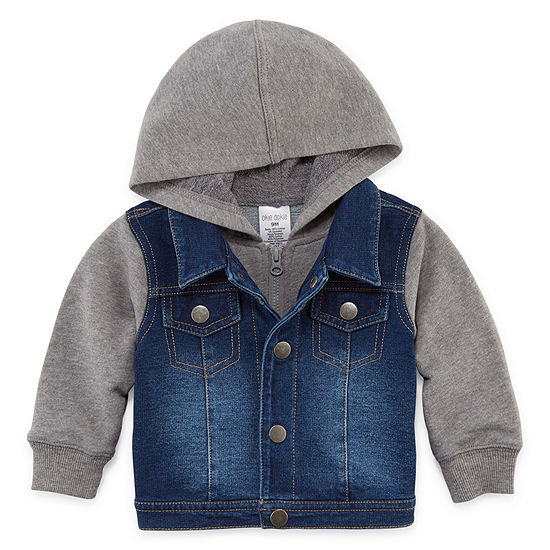 Okie Dokie Baby Boys Denim Jacket