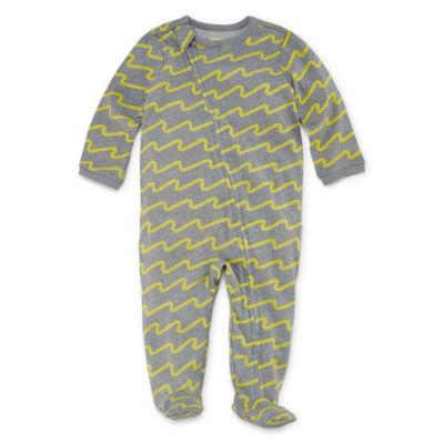 Okie Dokie Printed Full Zip Sleep and Play - Baby NB-9M