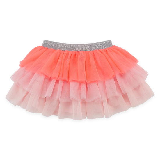 Okie Dokie Tiered Tutu Skirt - Baby Girl NB-24M