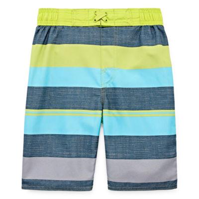 Arizona Stripe Swim Trunk - Boys 4-20 & Husky