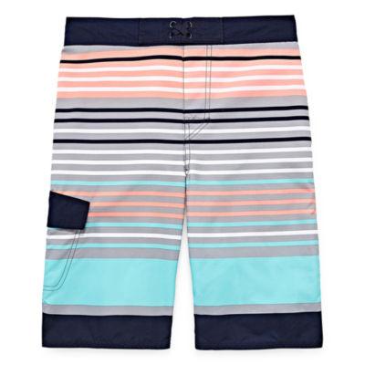 Arizona Stripe Swim Trunk - Boys 4-20