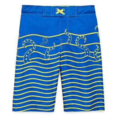 Arizona Kraken Swim Trunk - Boys 4-20